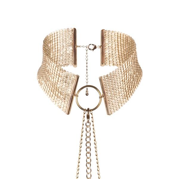 Imagen de Désir Métallique - Collar metálico dorado