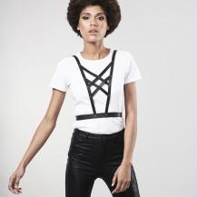 MAZE - Cross Cleavage Harness Black