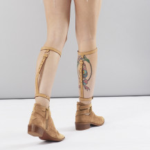 MAZE - Back Leg Garter Brown