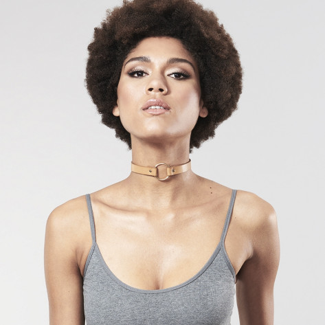 MAZE Choker Vegan Leather by Bijoux Indiscrets
