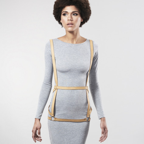 MAZE - Arrow Dress Harness Brown