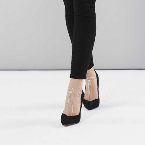 Magnifique Feet Chain - Silver