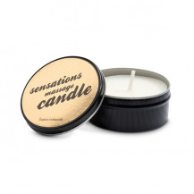 Sensations Massage Candle