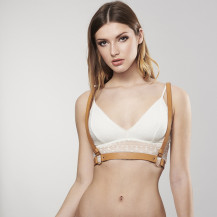 MAZE Harness Vegan Leather by Bijoux Indiscrets (back)