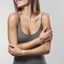 MAZE - Bracelet/ Harnais Pour Les Mains Marron