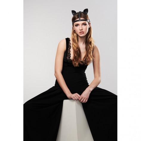 MAZE - Accesorio con orejas de gato en negro