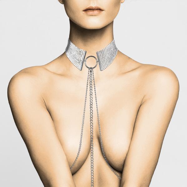 Imagen de Désir Métallique · Collar metálico plateado